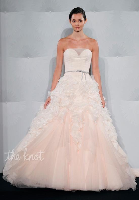Mark Zunino For Kleinfeld 52 Wedding Dress Photo Dresses Blush Gowns