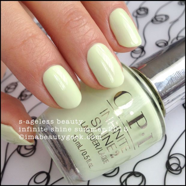 Opi Infinite Shine You Can Count On It Opi Infinite Shine Summer 2015 Swatches Review With Images Nails