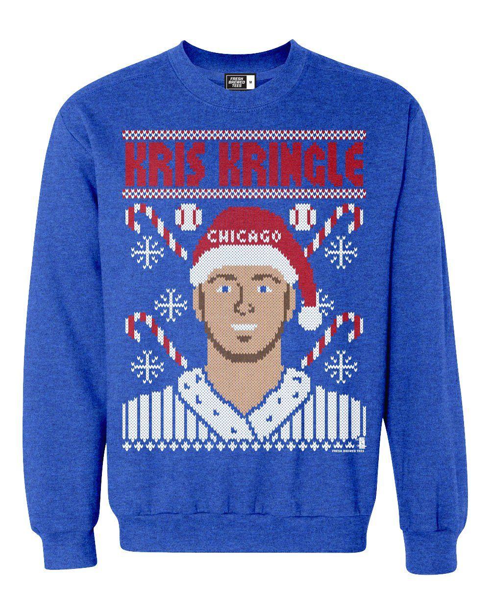 Kris Kringle Bryant Ugly Christmas Sweatshirt  be7cbc156