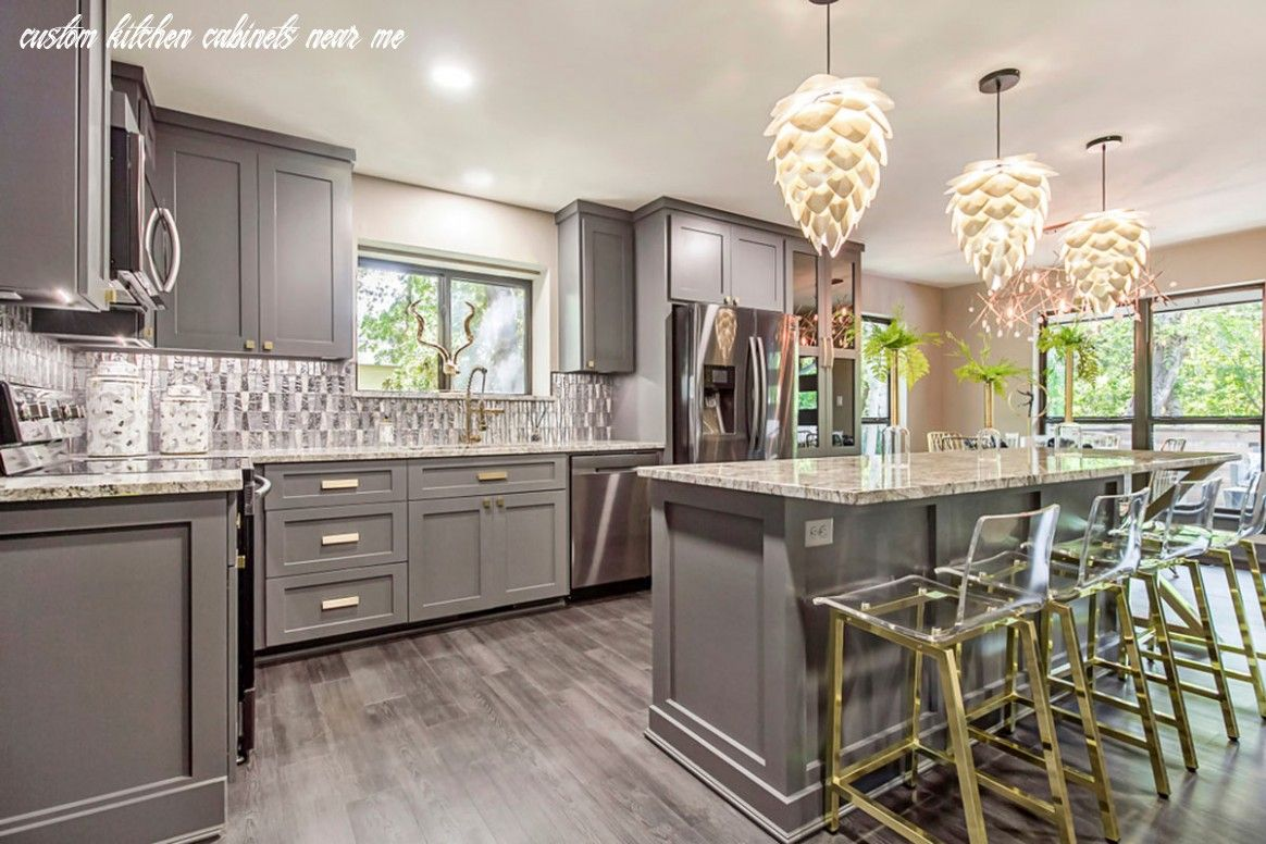 16 Custom Kitchen Cabinets Near Me