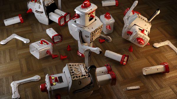 https://www.behance.net/gallery/15259345/Robots