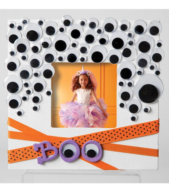 Googly Eye Photo Frame Halloween Thanksgiving And Fall