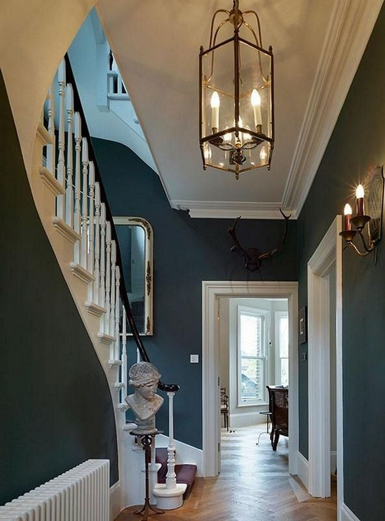 24 Awesome Victorian Hallway Lighting Ideas For Classic Home Page 17 Of 26 Home Homedecor Ho Victorian Home Decor Victorian Hallway Interior House Colors