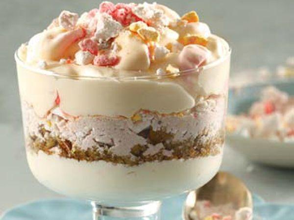 Condensed Milk Marshmallow Fridge Tart Tart Dessert Cold Desserts Tart Recipes