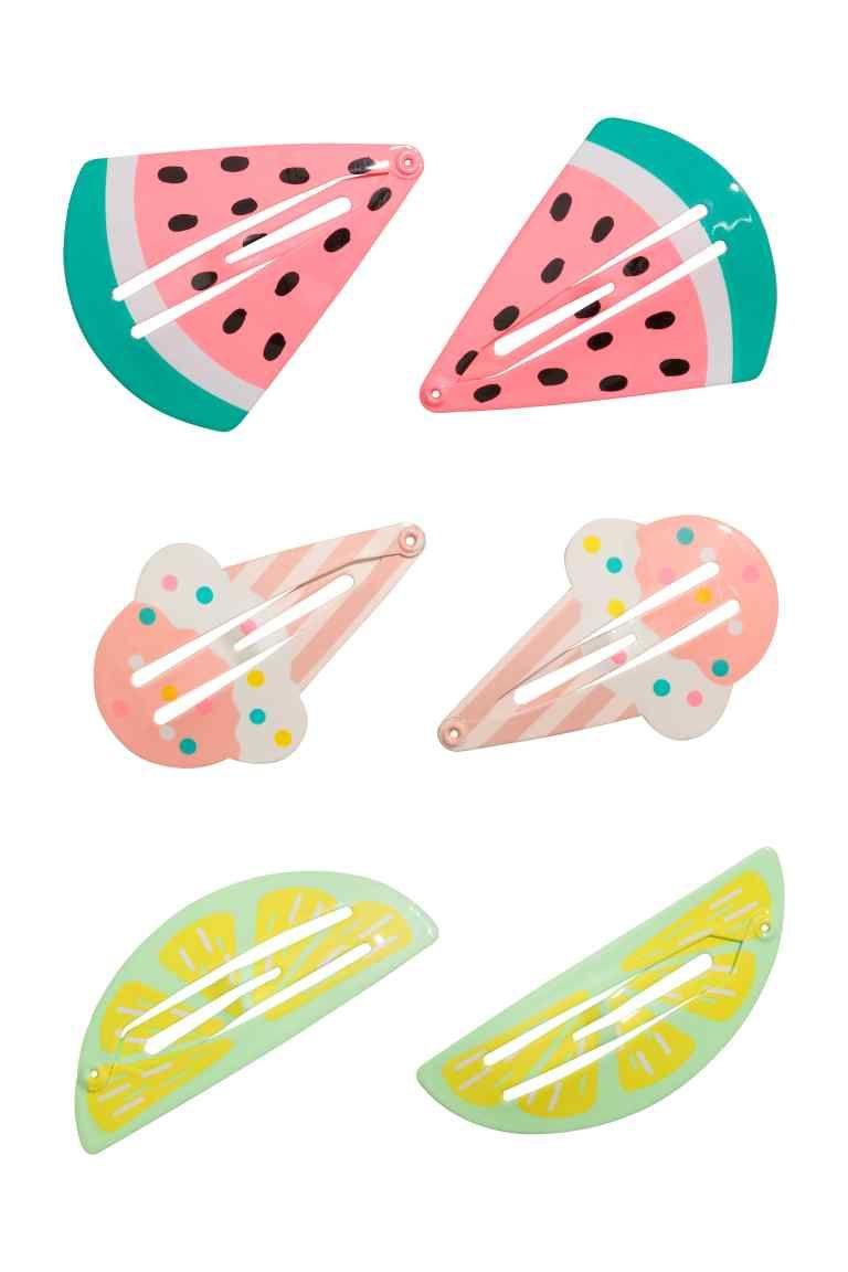 3-pack hair clips #kidshairaccessories