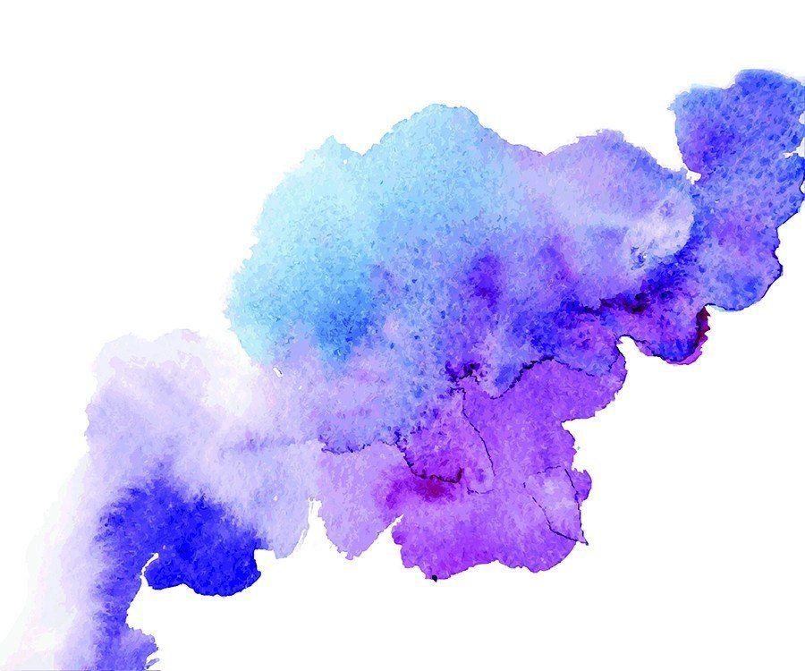 Purple Splash Wallpaper Mural Watercolor Splash Abstract Watercolor Paint Splash Background