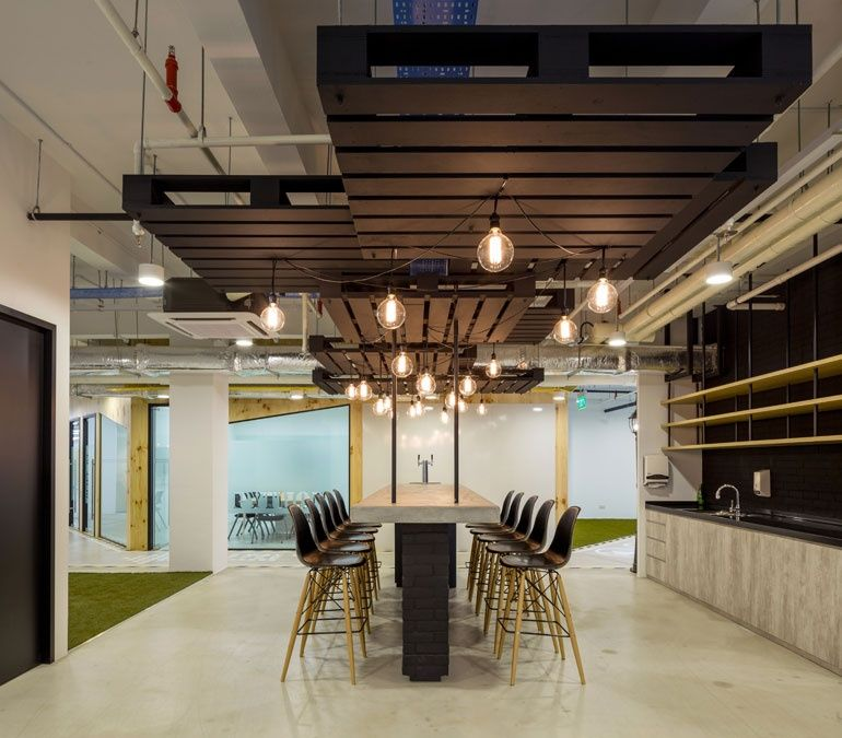 Office Design Company: Innovative Office Designs In Singapore Attract Global