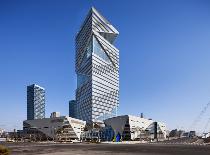 HAEAHN architecture G-tower incheon korea designboom