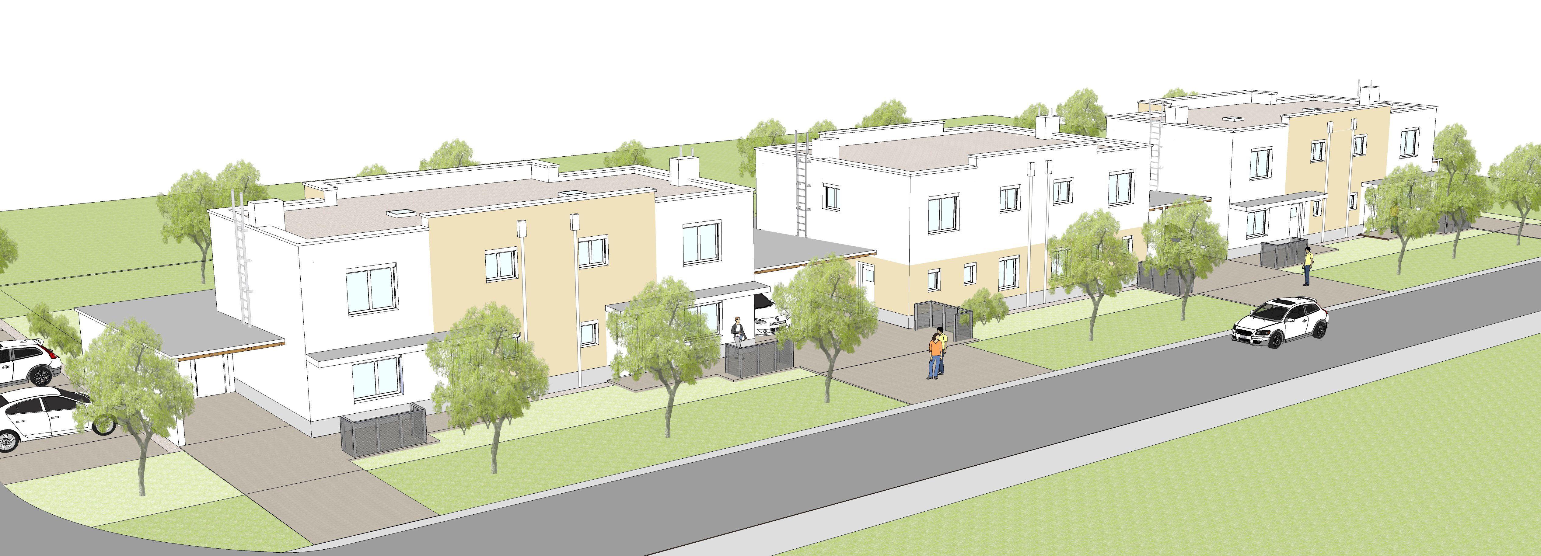 Reihenhaus In Neusiedl Weidengasse Rh 3 Reihenhaus Weiden Haus