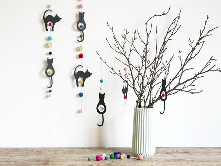 DIY – Ophæng til Fastelavn - Søstrene Grene