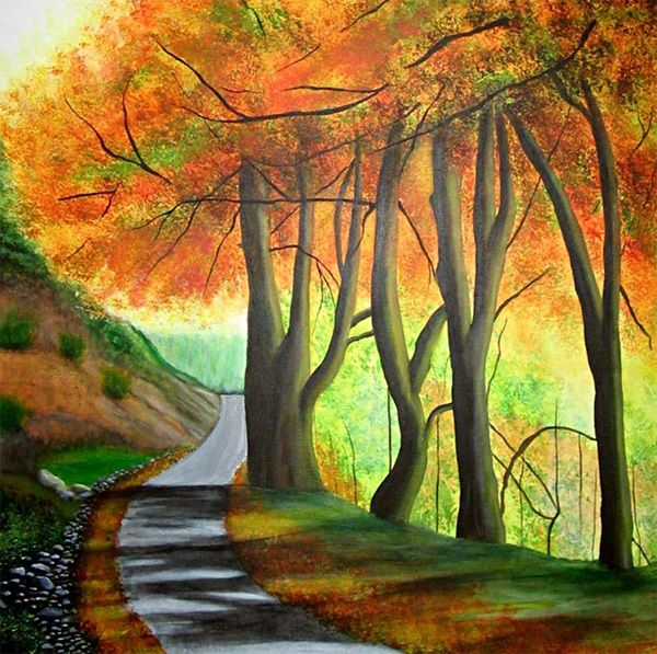 40 excellent but simple acrylic painting ideas for beginners