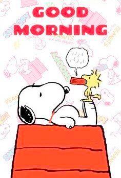 Morgen bilder guten snoopy 57+ Snoopy