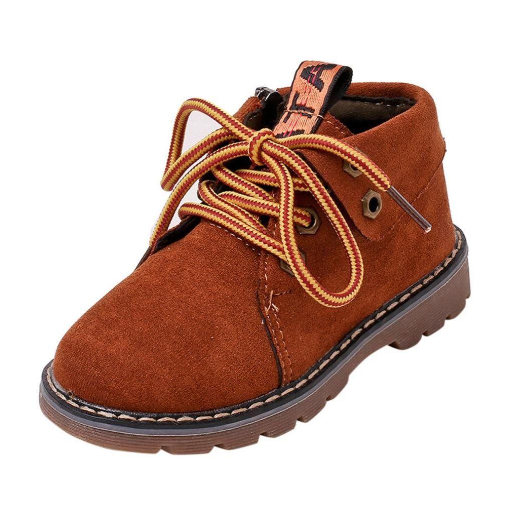 eeb19e50 Baby boot Shoes, DEESEE(TM) Toddler Newborn Baby Boys Girl Crib Winter Boots