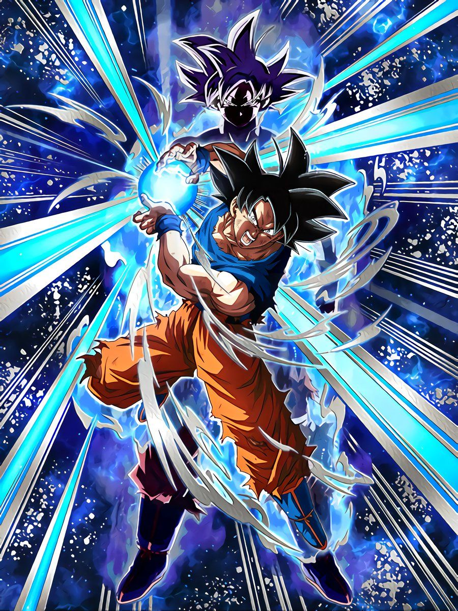 Transdimensional Instinct Goku Ultra Instinct Sign