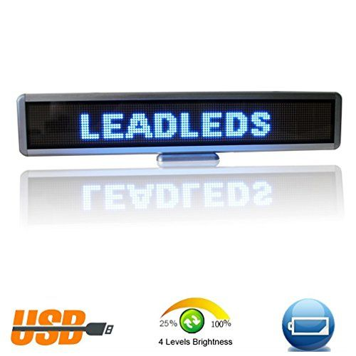 Best Price On Leadleds 17 X 43 In Led Message Board For Business
