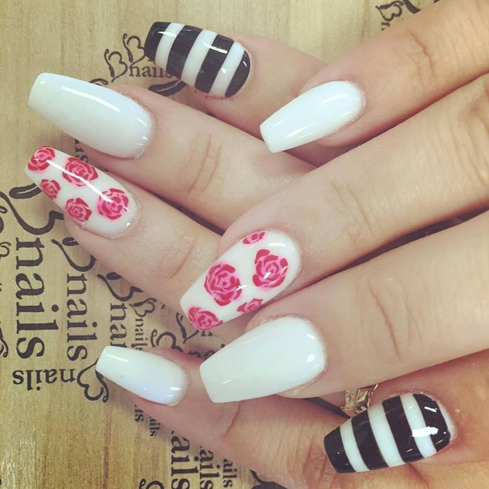 Bnails Salon  Best nail salon Hereford l Canyon l Amarillo  roses