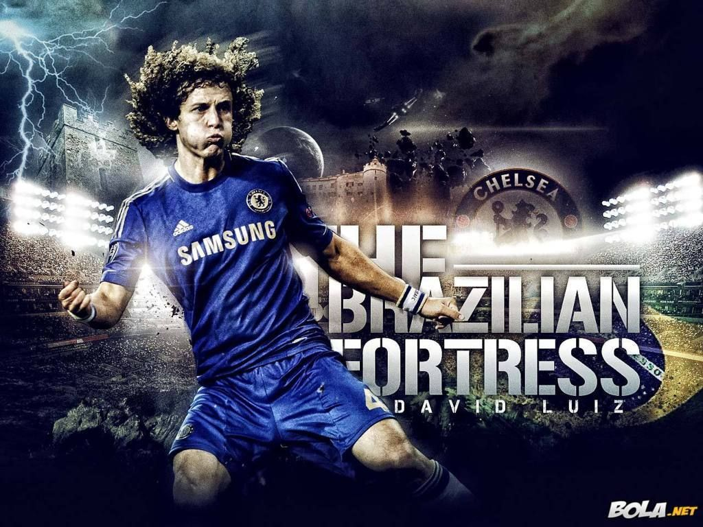 David Luiz Chelsea Wallpaper HD 2013 #1