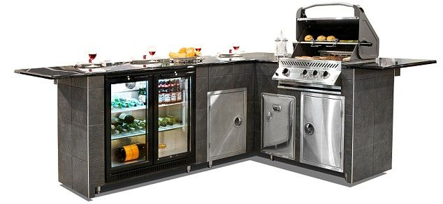 Let S Eat Out Outdoor Kitchens Outdoor Kitchen Prefab Outdoor Kitchen Bbq Island