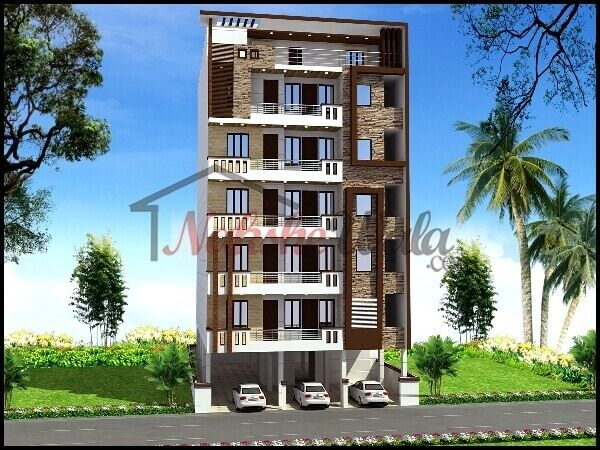 3d front elevation design indian front elevation kerala for Home elevation front side
