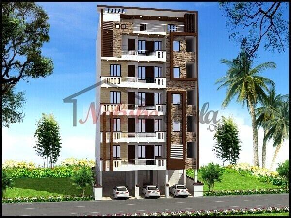 3d front elevation design indian front elevation kerala for Home elevation front side