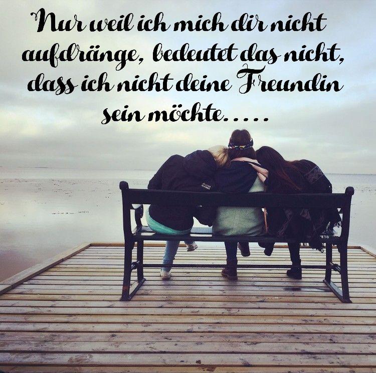 Freundschaft / Vertrauen / Verbindung / aufdringlich