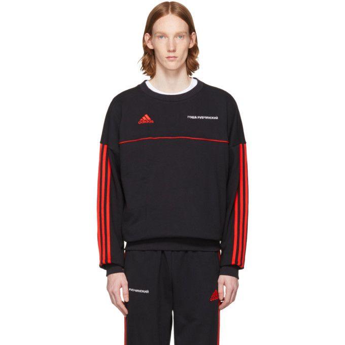 GOSHA RUBCHINSKIY Black adidas Originals Edition Logo