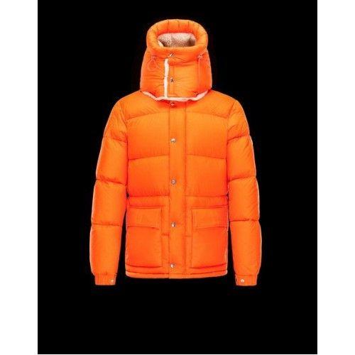 moncler jakke orange