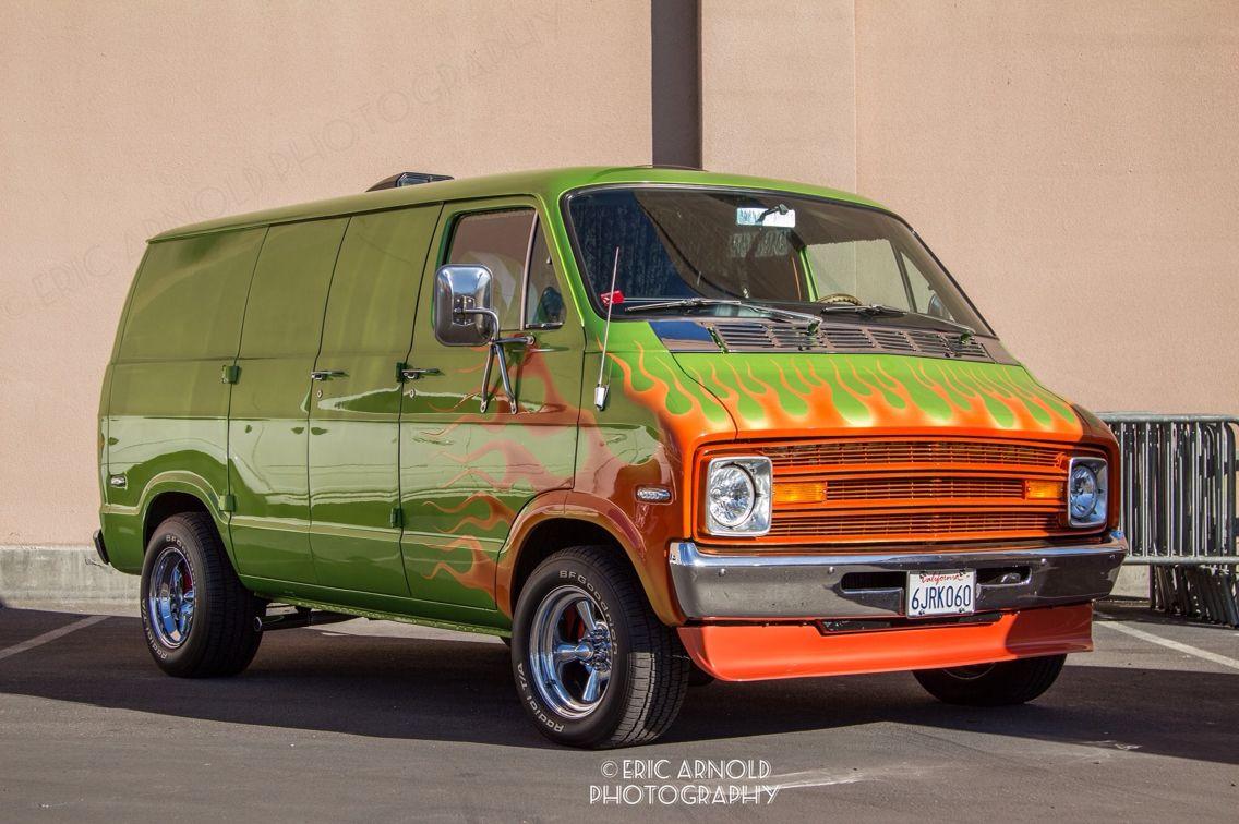 old school van