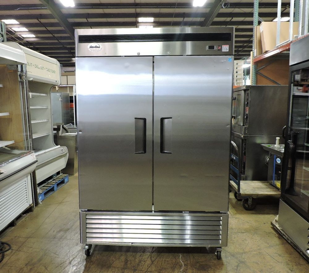 Atosa Mbf8507 Commercial Stainless Steel 2 Door Bottom Mount Refrigerator Atosa Refrigerator Sale Solid Doors Restaurant Equipment