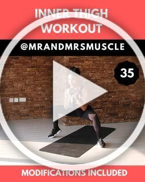 Inner and pitter thigh slimming exercise with weights #legday #exercisefitness #fitness #exercise