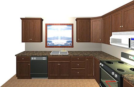Kitchen Design Layout Ideas L-Shaped Lshaped Kitchen Cabinet Layout  New Kitchen  Pinterest