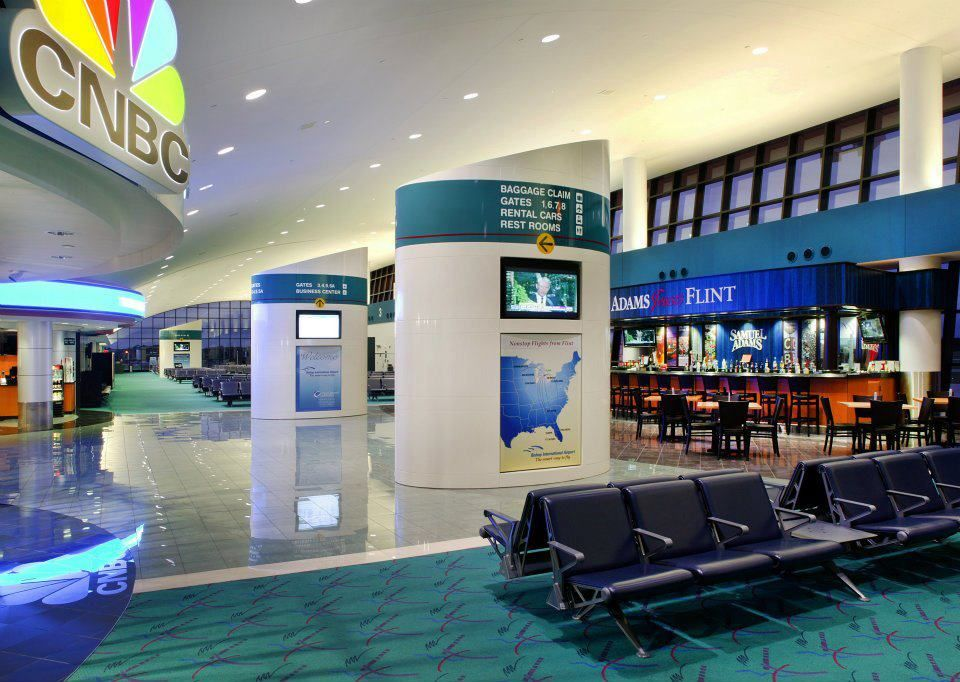 Airside Concourse Airport Photos VIdeos Pinterest - Michigan airports