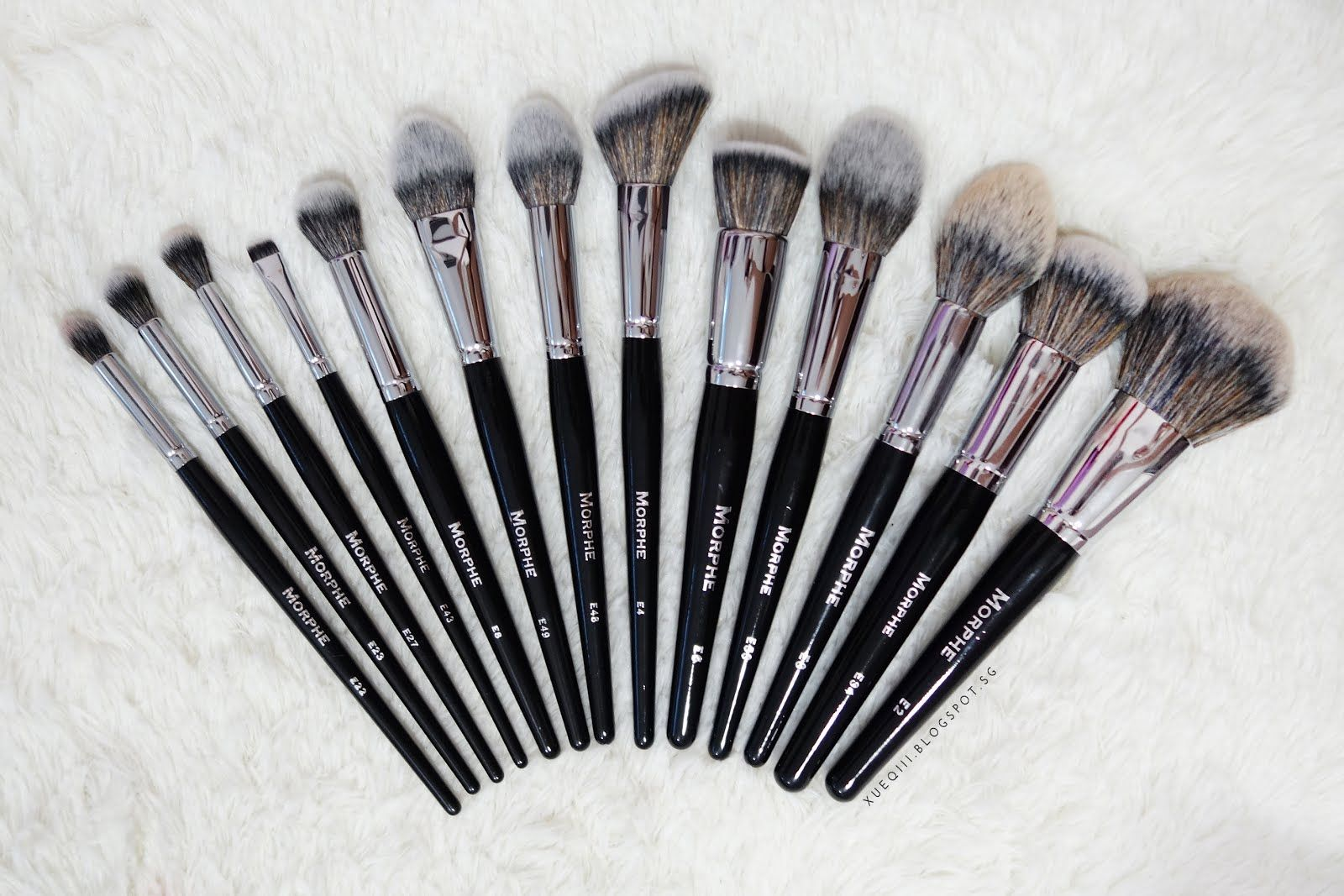 Morphe Brushes Elite Collection Review Makeup Brush Set Makeup Brushes Morphe Brushes Set