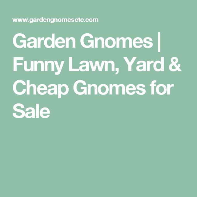 Garden Gnomes Funny Lawn Yard Cheap Gnomes for Sale GNOME