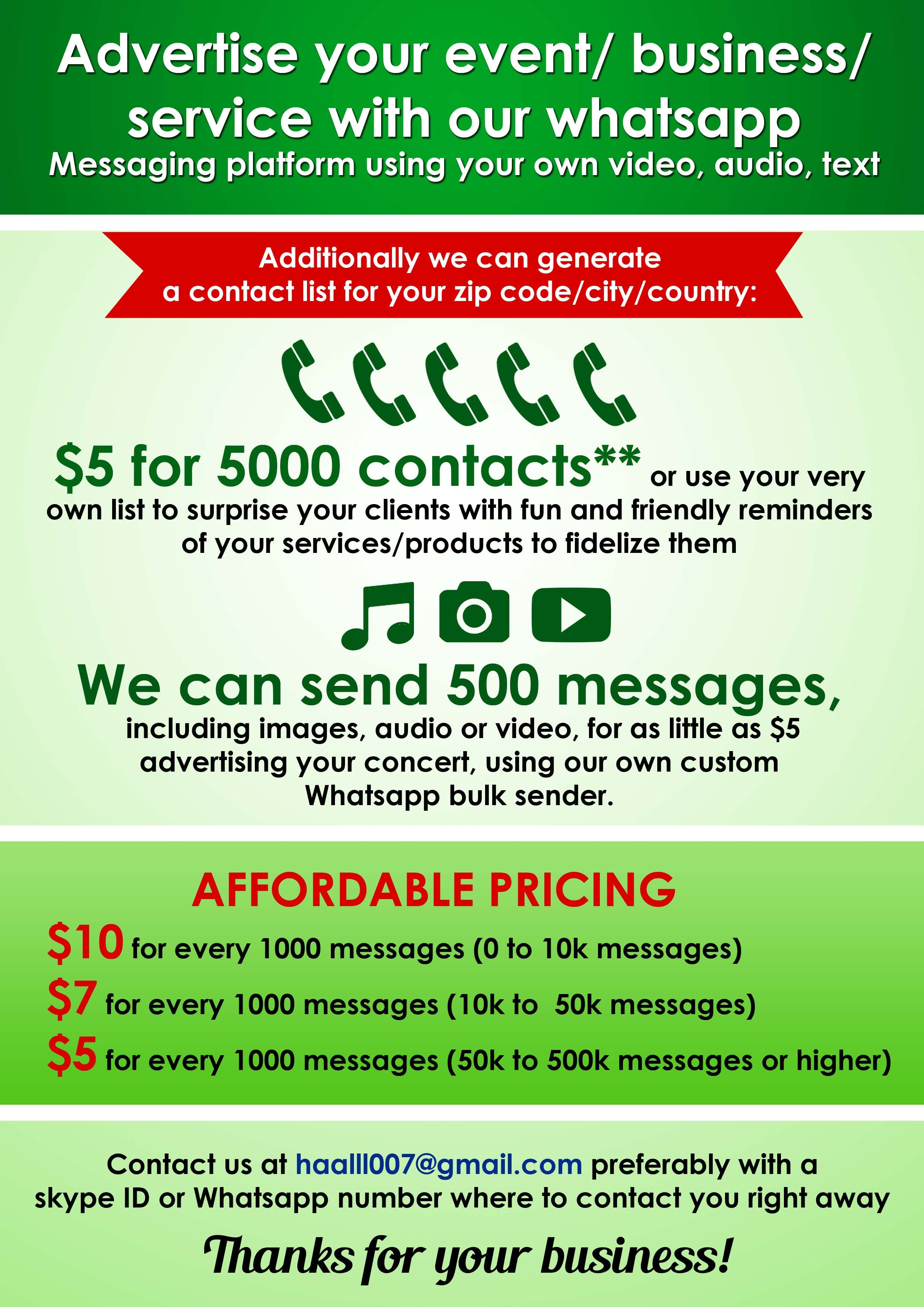 Dont Spam them, engage them** Visit our fiverr gig to get