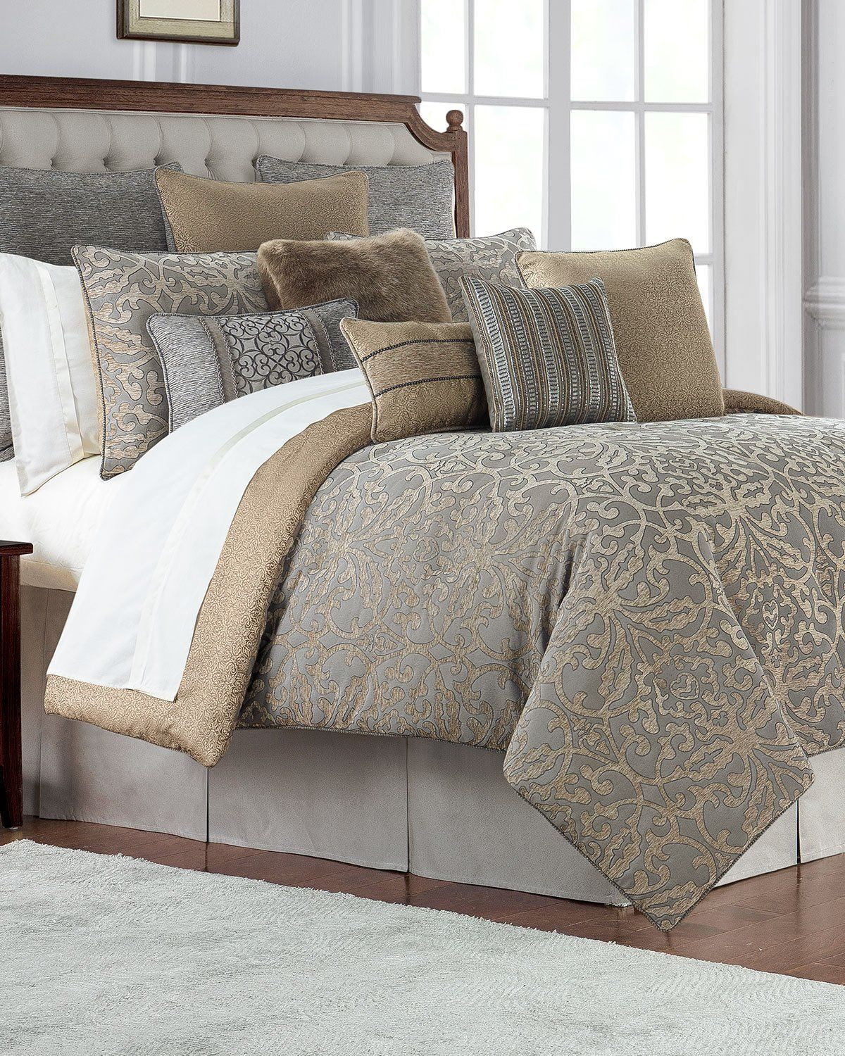 Waterford Carrick Queen Comforter Set Comforter Sets Bedroom
