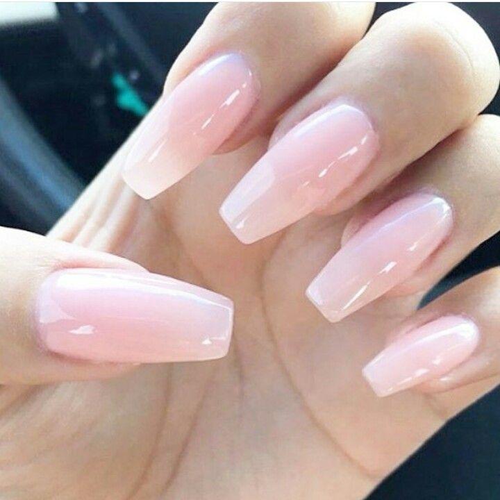 Pink Nails Aesthetic Pintrest Sofia Pink Gel Nails Pink Nails Transparent Nails