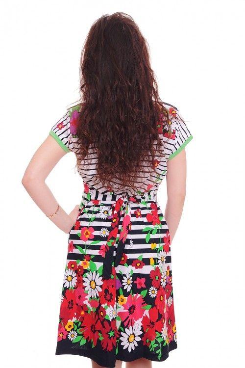 Халат А4953 Размеры: 44-54 Цена: 450 руб.  http://optom24.ru/khalat-a4953/  #одежда #женщинам #халаты #оптом24