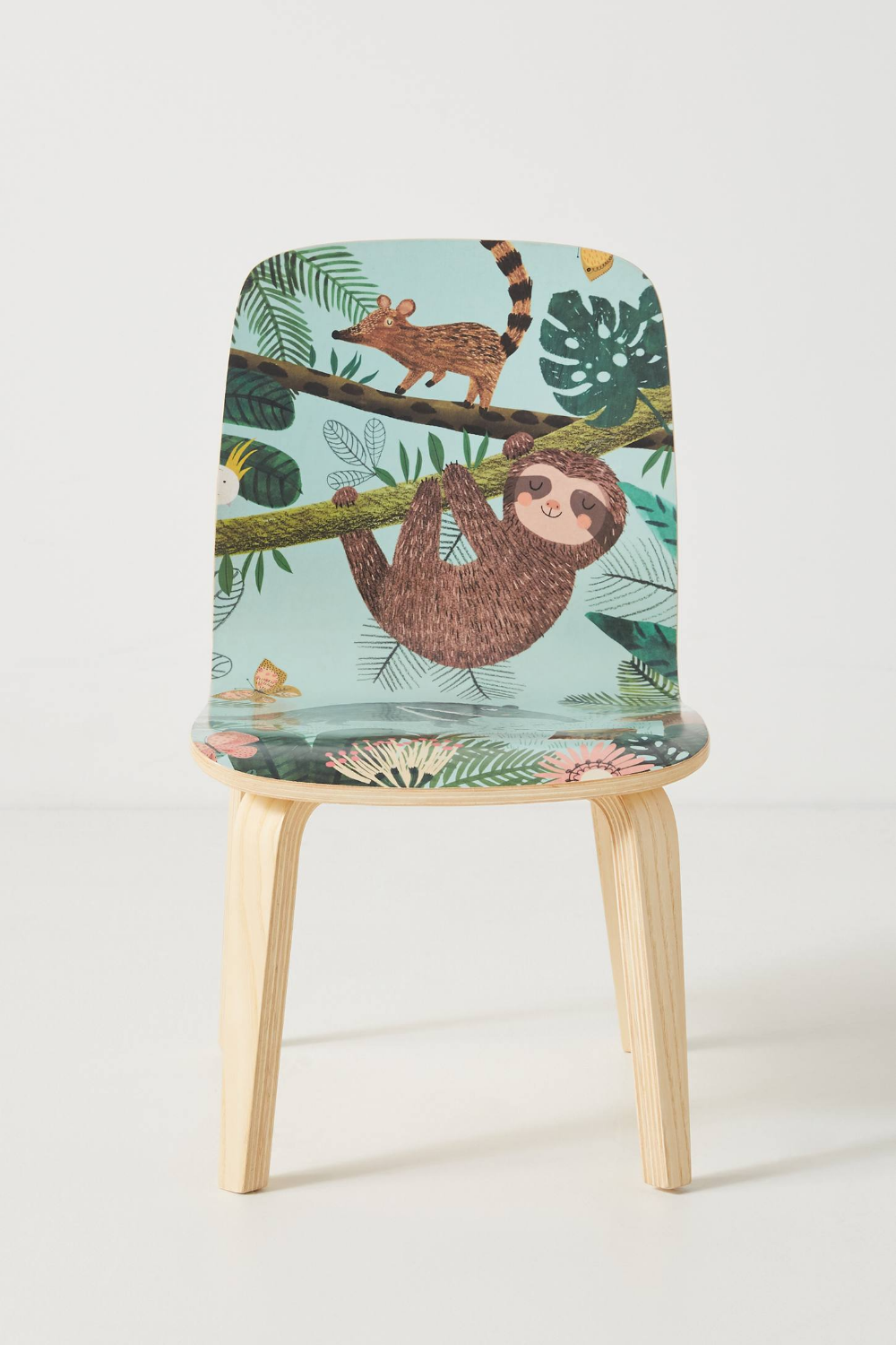 Rebecca Jones Tropical Tamsin Kids Chair Kids Chairs Childrens Chairs Blue Accent Chairs