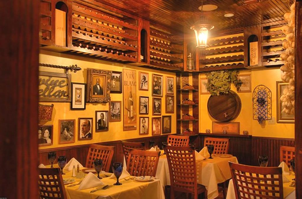 Italian Restaurants Room Wall Interior Decoration Of