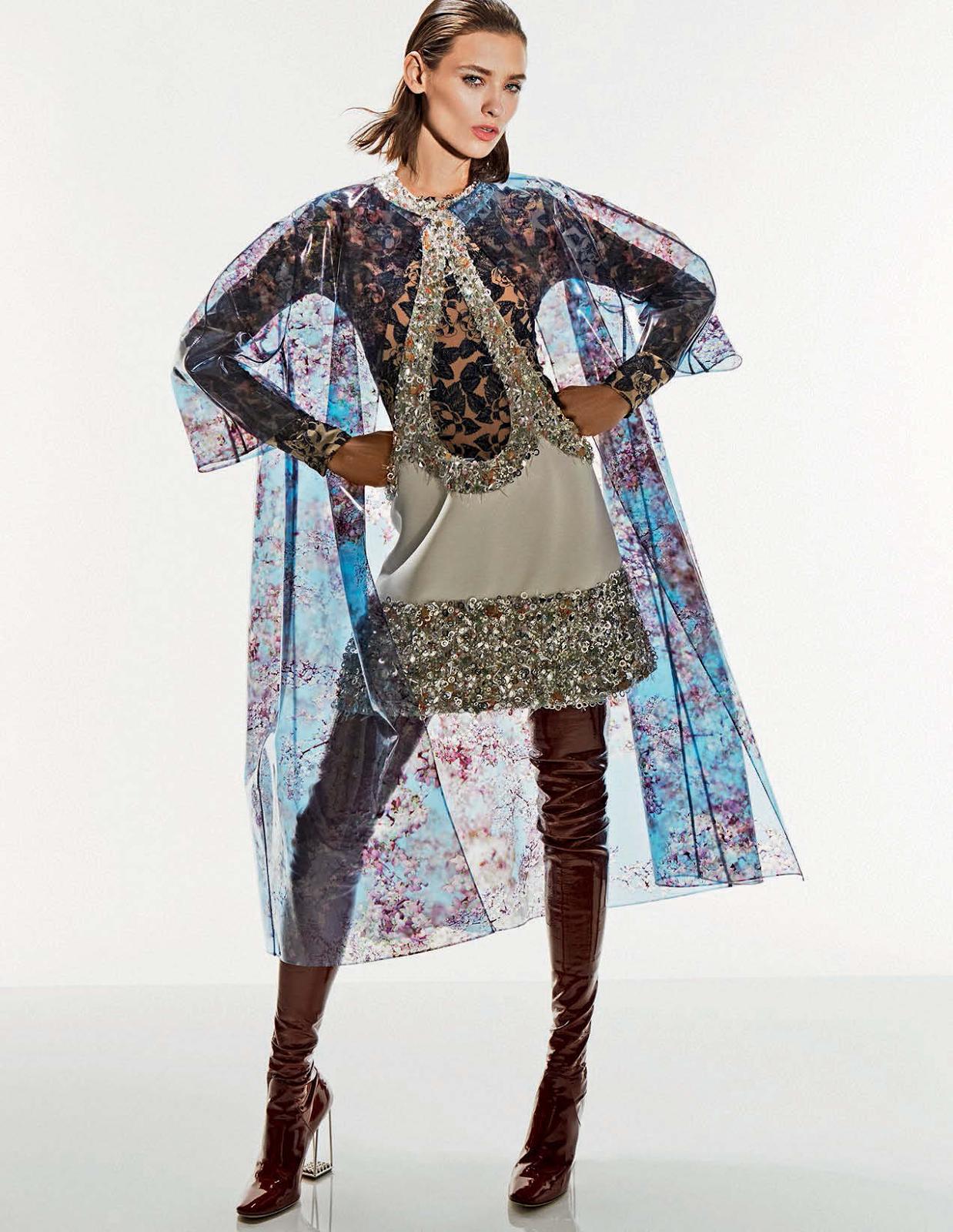 visual optimism; fashion editorials, shows, campaigns & more!: alto fragile: alexandra martynova and carolina thaler by mark pillai for elle italia april 2015