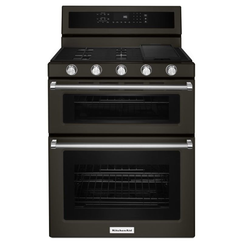 Kitchenaid kfgd500e in 2020 gas double oven double oven