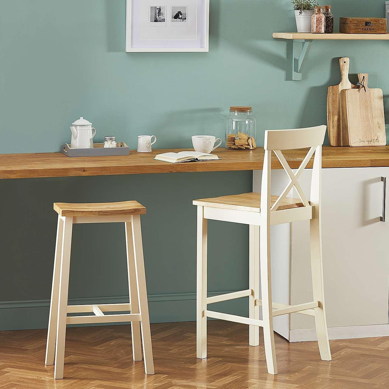 Briston Cream Bar Stool Bar chairs, Bar chairs kitchen