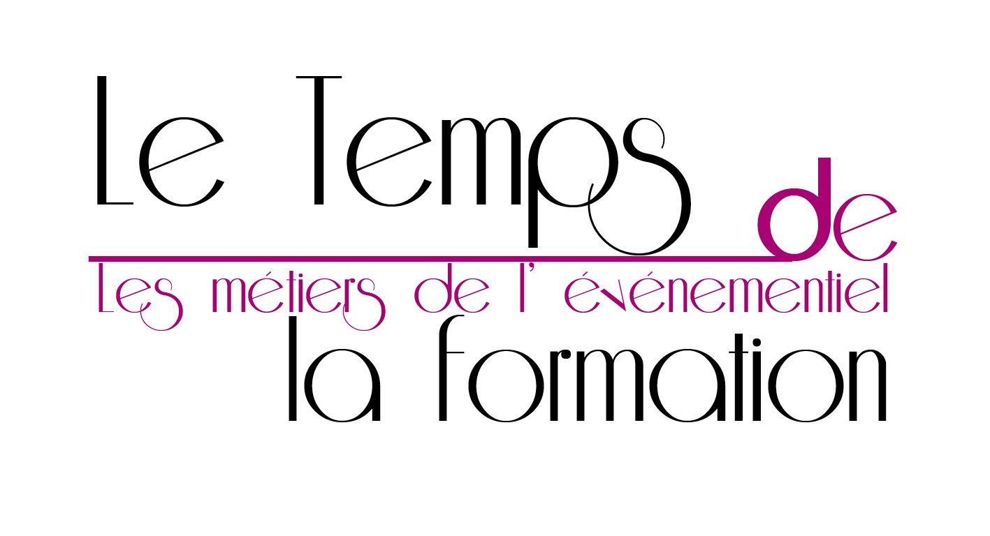 Epingle Sur Logo Le Temps De La Formation