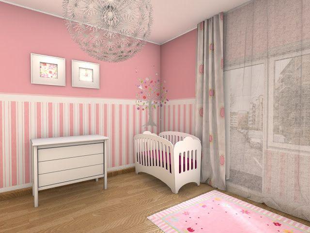 Chambre Bebe Fille En Gris Et Rose 32 Belles Idees