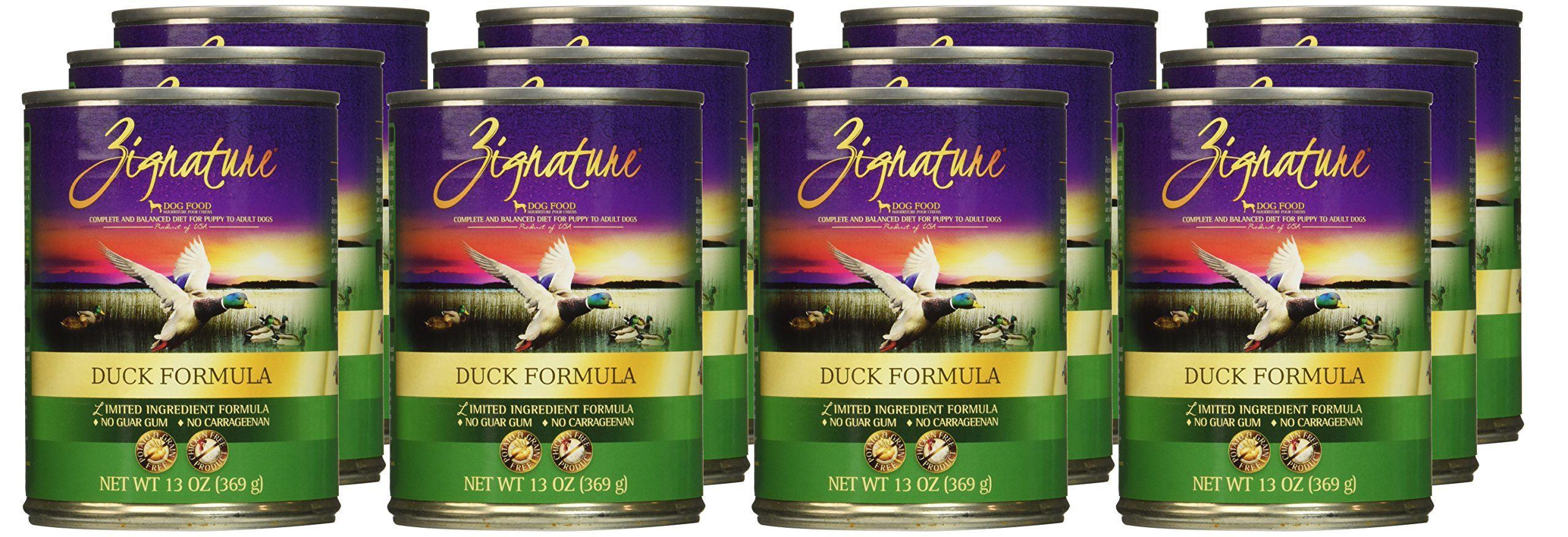 Zignature Duck Formula Dog Food One Size You Can Find Out More