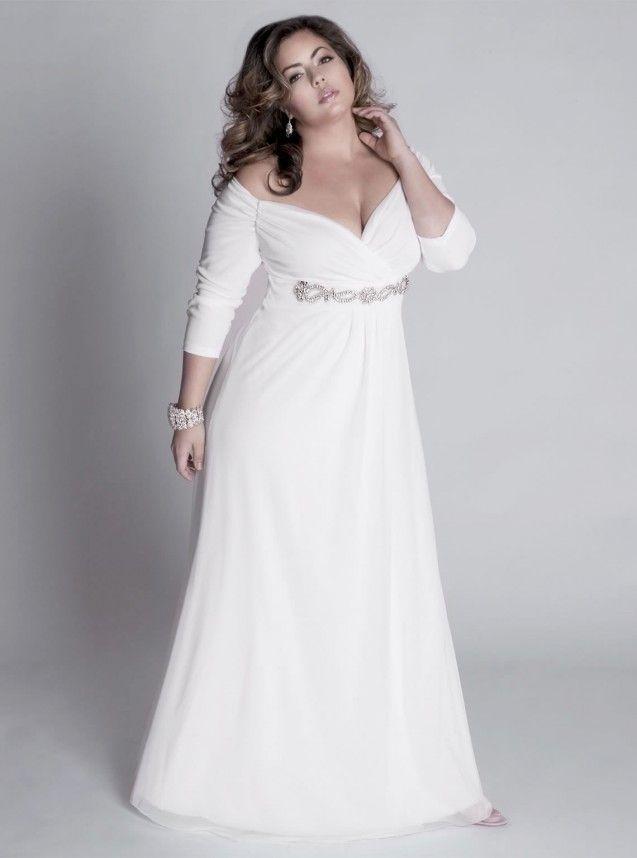 Lovely Plus Size Vintage Wedding Dresses