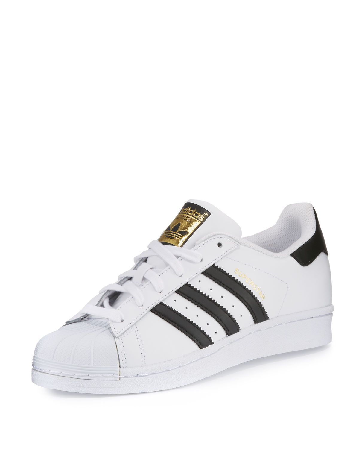 f8c4243d2b8b adidas Superstar Classic Mens Leather Sneakers Addias Shoes