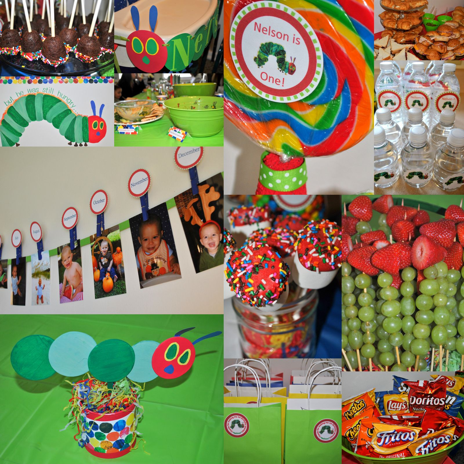 A Very Hungry Caterpillar 1st Birthday {in Pictures} (With