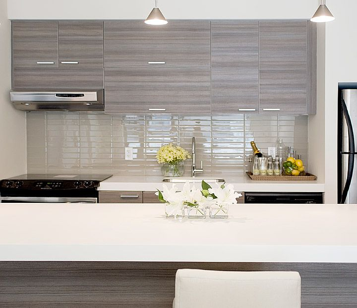 Contemporary Kitchen Backsplash jessica kelly design: fabulous contemporary kitchen with glossy